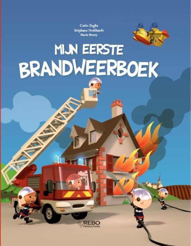 Boekenhoek: mijn eerste brandweerauto