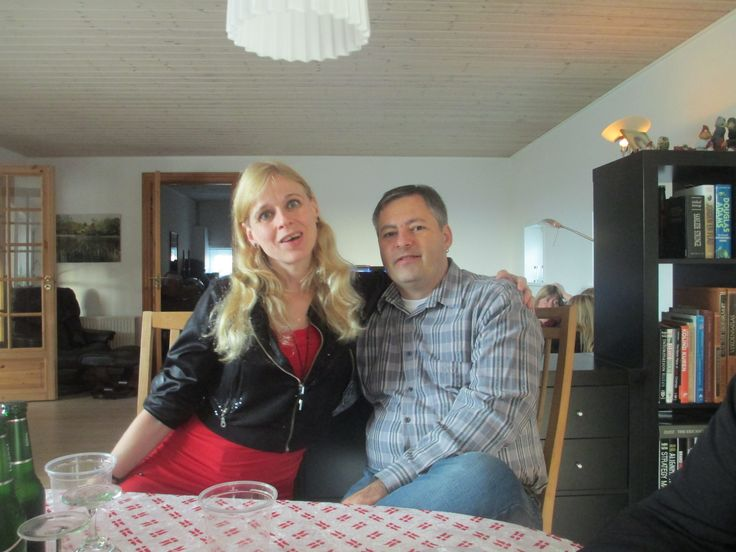 My husband Lasse and I <3