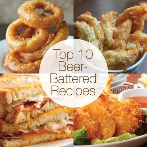 Top 10 Beer-Battered Recipes from @Jane Maynard