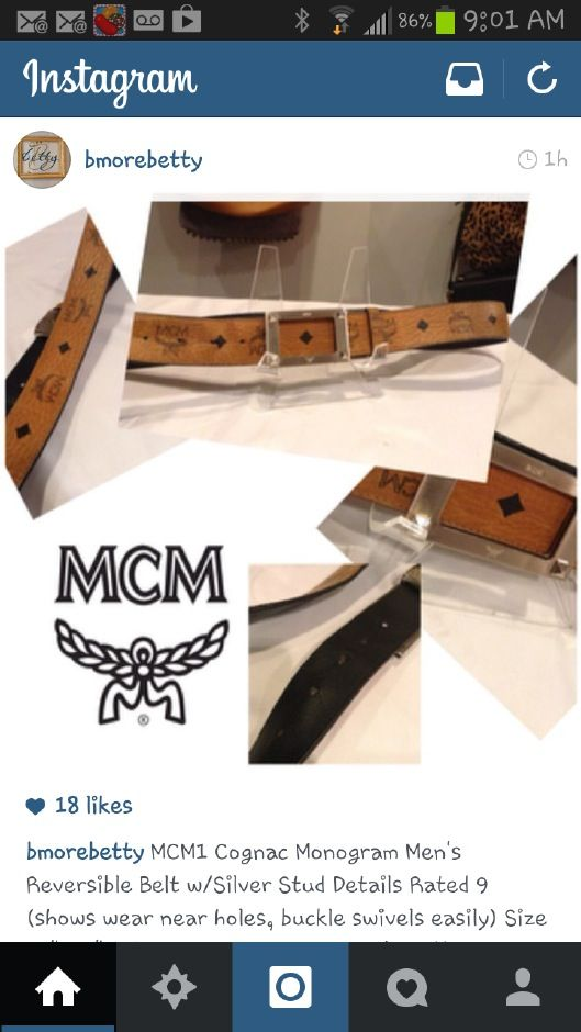 Men's McMahon belt