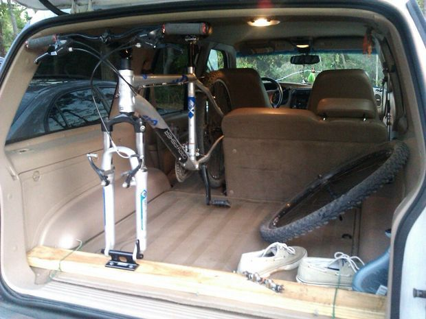Picture of In Trunk Bike Rack