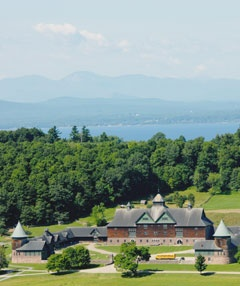 Shelburne Farms is a membership-supported, nonprofit environmental education center, 1,400-acre working farm, and National Historic Landmark on the shores of Lake Champlain in Shelburne, Vermont. Our mission is to cultivate a conservation ethic for a sustainable future.