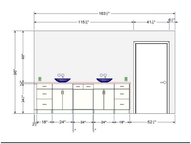 Using The Standard Washbasin Height