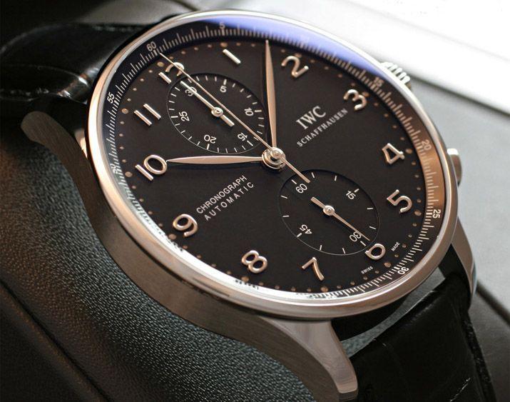IWCポルトギーゼクロノ IW371438 黒 ポルトギーゼクロノ IW371438 新品 -IWC時計コピー
