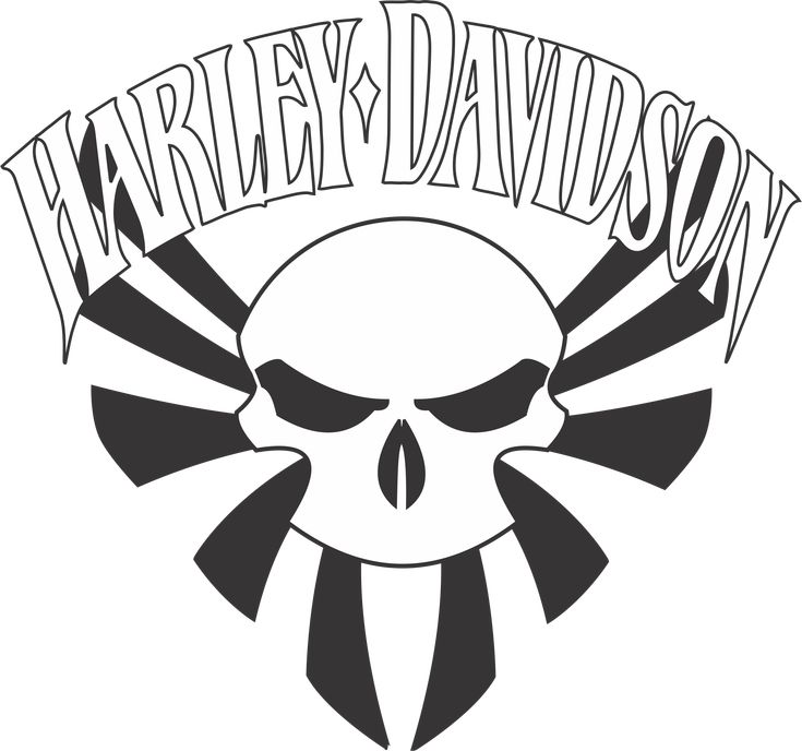 Harley Davidson Logo Template