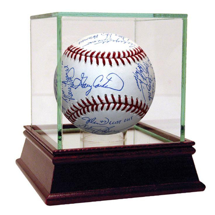 "1986 New York Mets Team Signed ""Nicknames"" MLB Baseball w/ Gary Carter (25 Sigs)"