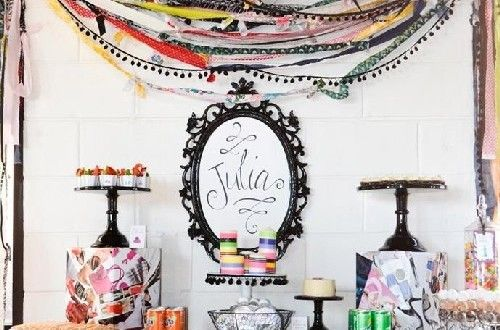 Decorating Idea for glamorous parties | Handspire [Spanish page content]