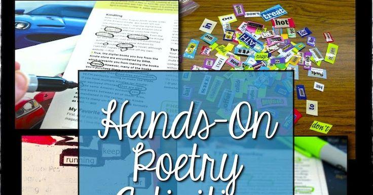 Mrs. Orman's Classroom: Hands-On Poetry Activities