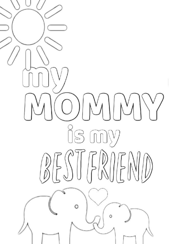 Free Printable Coloring Pages For Mom Simple Mom Project Mothers Day Coloring Pages Mom Coloring Pages Coloring Pages
