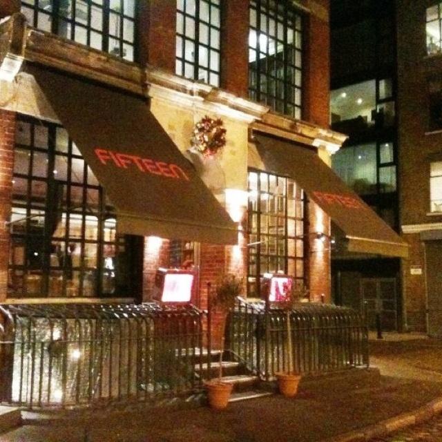 Fifteen London Restaurant