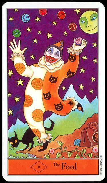 Halloween Tarot: The Fool by Kipling West