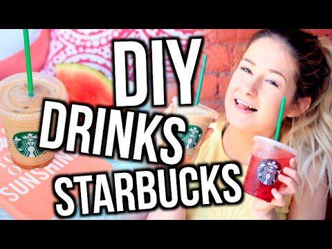 DIY BOISSONS STARBUCKS! | Emma Verde