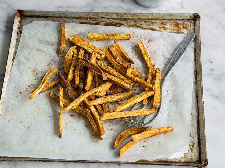 Süßkartoffel-Pommes aus dem Ofen_mag