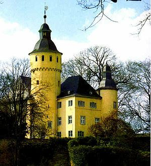 Homburg Castle is an old hill castle in Nümbrecht, Oberbergischer Kreis in the German state of North Rhine-Westphalia.