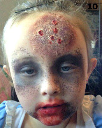 Zombie Makeup for Kids - Madame Deals, Inc.
