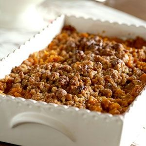 Streuseled Sweet Potatoes- Thanksgiving Recipes - Side Dishes - Redbook.