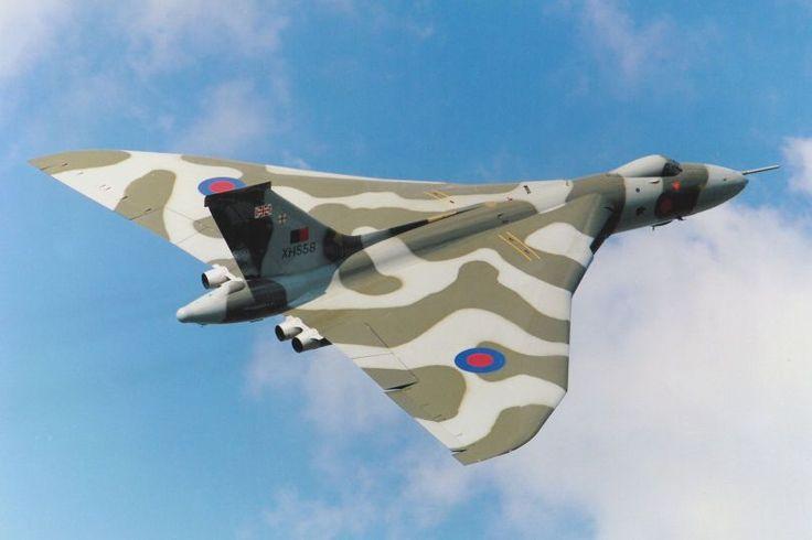 British Avro Vulcan bomber