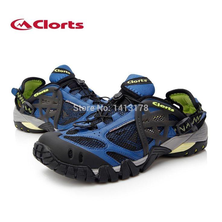 Clorts Быстросохнущая обувь на открытом воздухе в которой можно ходить по воде вброд обувь мужская обувь земноводная обувь обувь для рыбалки обувь для ходьбы WT 05B/C/Gкупить в магазине Clorts Outdoor Shoes StoreнаAliExpress