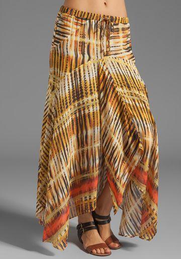 Da-Nang Patchwork Skirt in Masai
