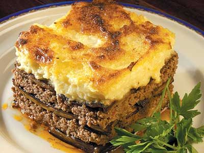 Lamb Moussaka - Preparation time:30 minutes  Slow Cooker Size3.5L+  Serves:4  Cooking time:9-11 hours on LOW setting