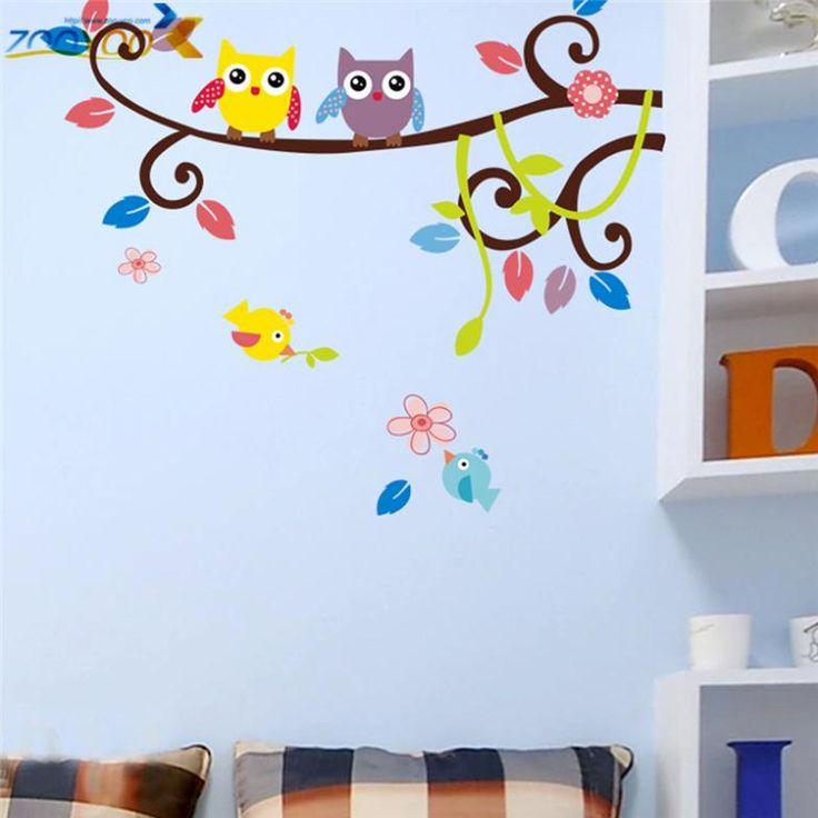 100 best décoration images on Pinterest Flower pots, Plant pots - stickers chambre bebe garcon pas cher