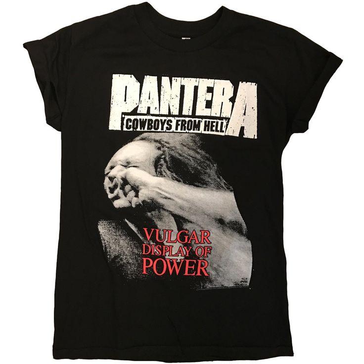 Pantera Band Tee - PLUS