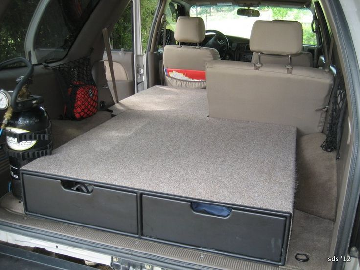 99 4runner Bed Projects Google Search Storage Area Customization Pinterest