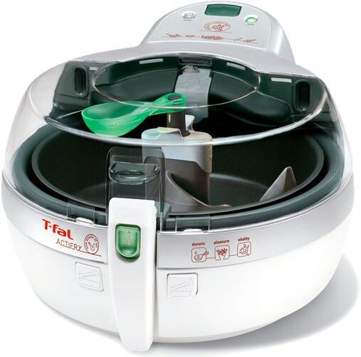 T-Fal ActiFry -- it's unique process provides a healthier alternative to the traditional method of deep-frying your favoirite foods.