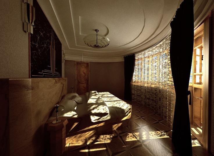 Amenajare interioara imobil de locuit, Stil Art deco
