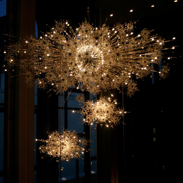 Chandeliers At The Metropolitan Opera, Lincoln Center, NYC. They Darken U0026  Rise Up Into The Ceiling When The Opera Is About To Begin.