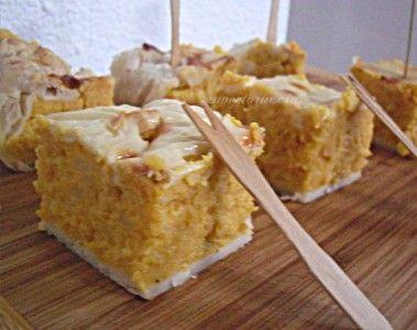 Sformato di zucca e patate gratinato al forno, sweetoruccias