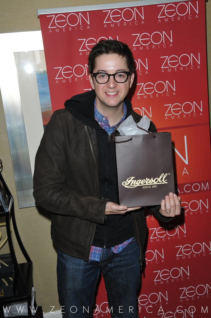 Here is Bradford Anderson from General Hospital rocking a watch from Ingersoll Watches USA!