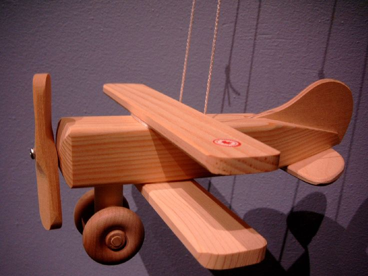 Wooden Gypsy Moth Plane.