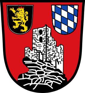 Wappen der Gemeinde Flossenbürg