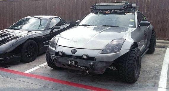 Внедорожник из Nissan 350 z. авто, внедорожник, nissan