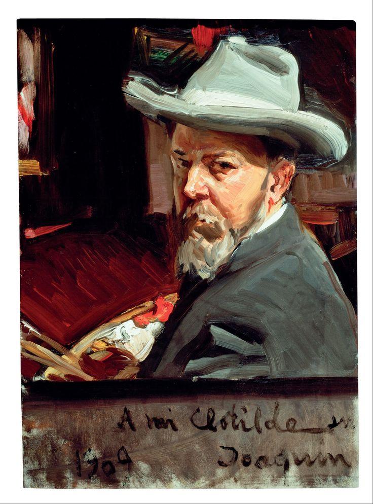 Joaquín Sorolla y Bastida - Self Portrait