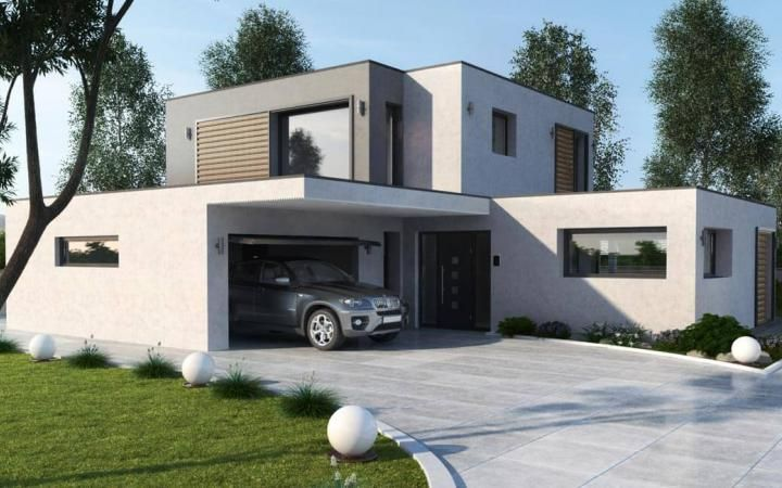 grecia  Maisons Stéphane Berger  Modele maison contemporaine