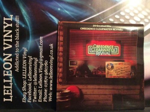 Creedence Clearwater Revival 20 Greatest Hits LP Album FT558 A1/B1 Pop 70's Music:Records:Albums/ LPs:Pop:1970s