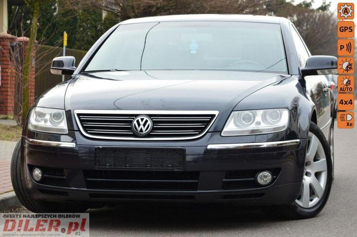 Volkswagen Phaeton - Opłacony 3.0Tdi Masaże Wentyle Navi Skóra Full Opcja Gwarancja