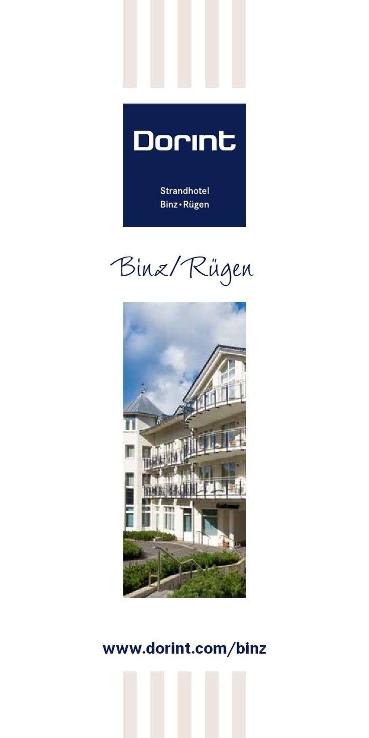 Hotelprospekt Dorint Strandhotel Binz/Rügen