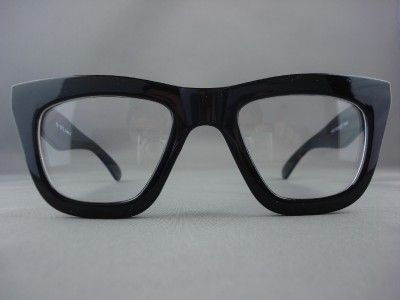 hotest eyewear for2013 | 50's Vintage Thick Black Retro Eyeglasses Clear Glasses for Men 1387A ...