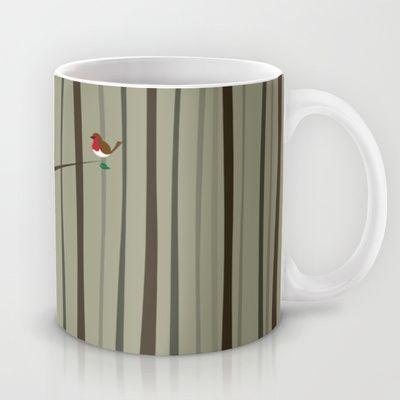 Winter Forest Mug by Nameless Shame - $15.00