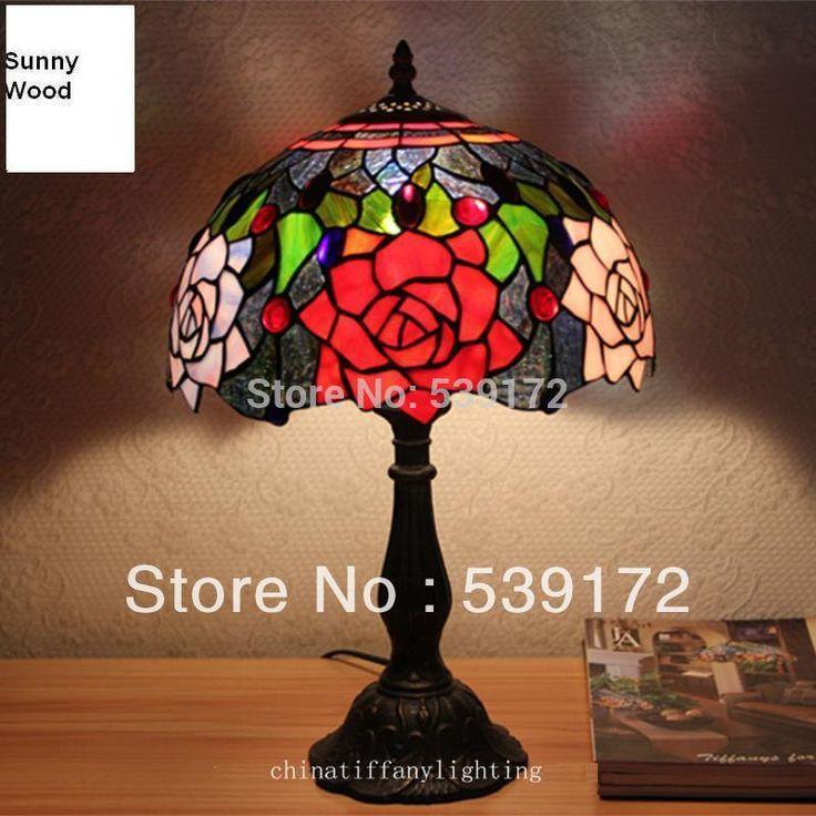 12-Inch Tiffany-Style Shell Lamp
