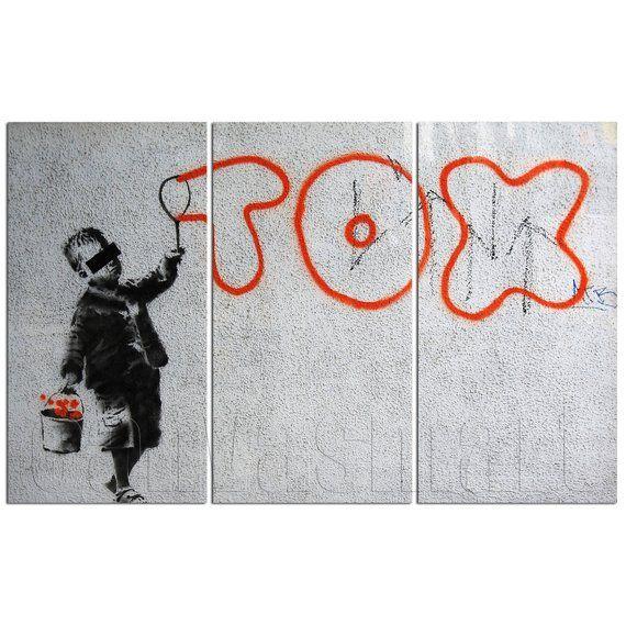 This Item Is Unavailable Canvas Art Prints Banksy Graffiti Banksy