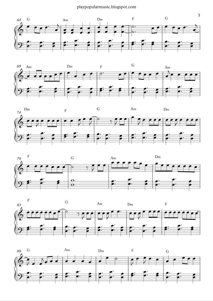 4946 best easy piano lessons images on pinterest pianos piano free piano sheet music shape of you ed sheeranpdf your love was fandeluxe Images