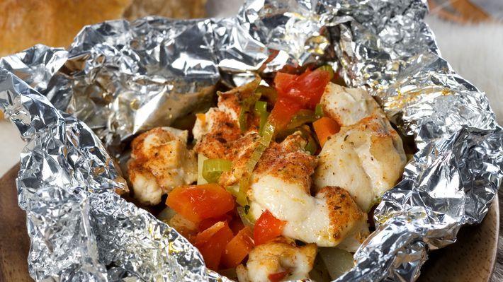 MatPrat - Foliepakke på bål eller grill