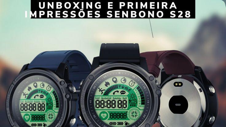 Smart Watch Smartwatch Senbono s28 Unboxing Digital