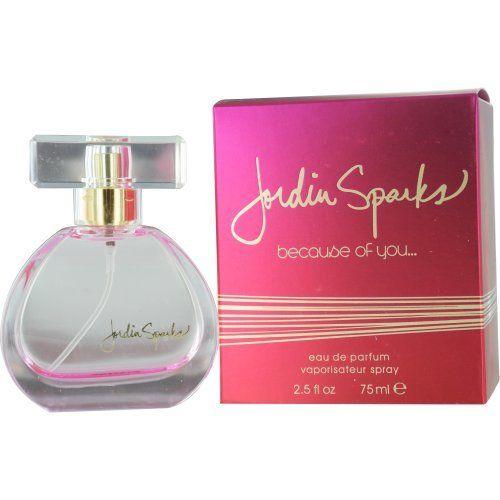 Jordin Sparks Because of You Eau De Parfum Spray for Women, 2.5 Ounce by Jordin Sparks, http://www.amazon.com/dp/B004CG0XIW/ref=cm_sw_r_pi_dp_dlU9pb1VKWBWF