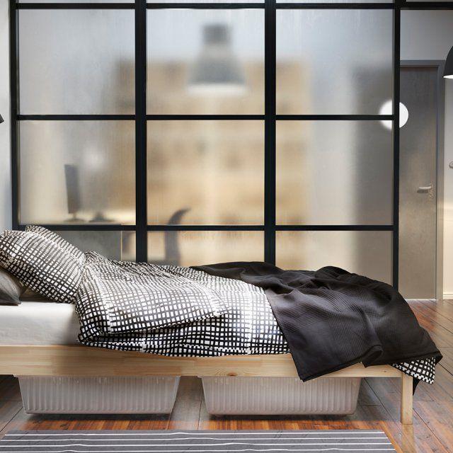 les 25 meilleures id es de la cat gorie cloison amovible ikea sur pinterest s paration de. Black Bedroom Furniture Sets. Home Design Ideas