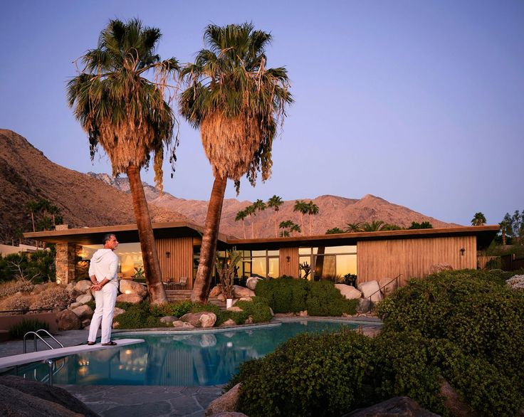 17 best images about palm springs forever 3 on pinterest for The edris house palm springs